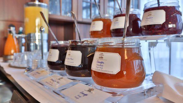 Restaurant / Spiesesaal: Marmelade | Hotel an der Messe | Frankfurts Geheimtipp · Reisende · Urlauber