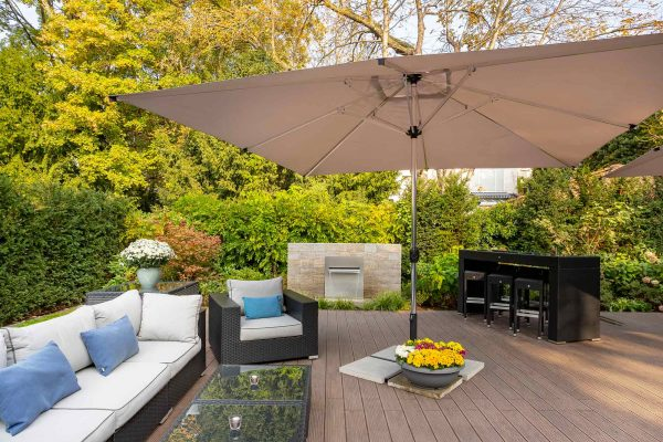Terrasse und Garten | Hotel an der Messe | Frankfurts Geheimtipp · Reisende · Urlauber