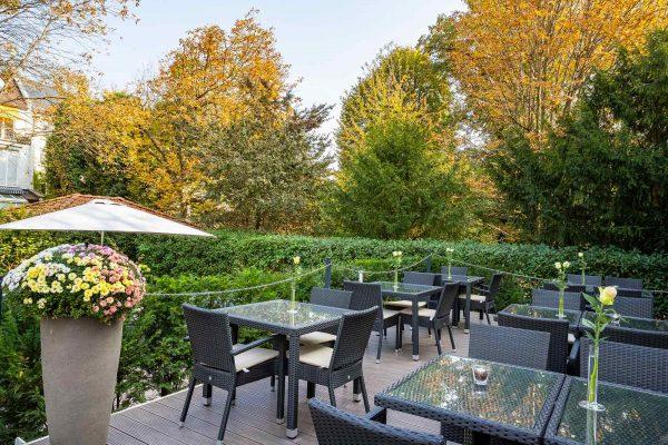 Garten | Hotel an der Messe | Frankfurts Geheimtipp · Reisende · Urlauber